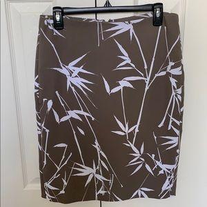 Banana Republic Pencil Skirt in Taupe